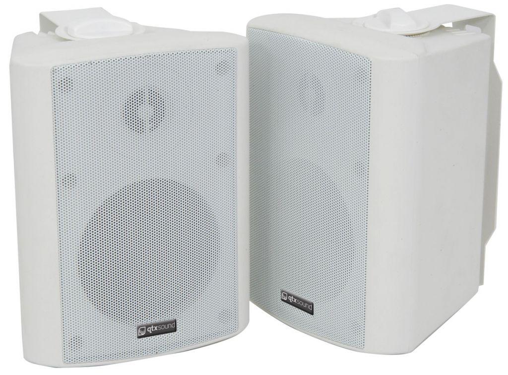 QTX BC4W 4'' Speakers 35W White 100.901UK (PAIR)