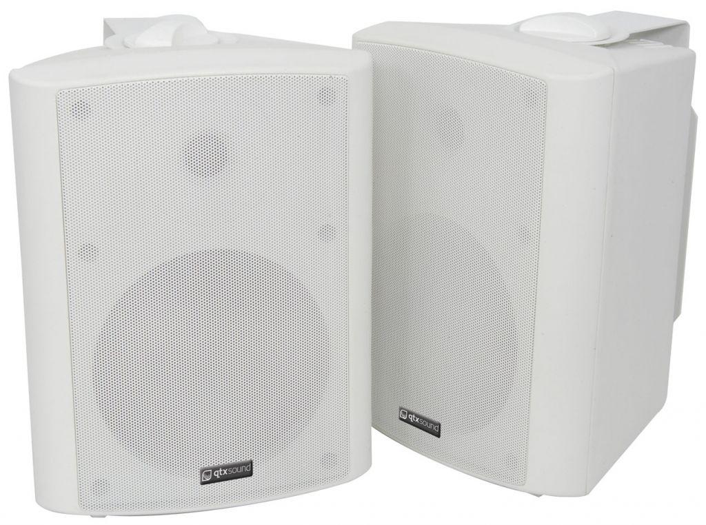 QTX BC6W 6.5'' Speakers 60W White 100.907UK (PAIR)