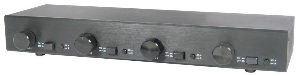 AV:link 2:4 Speaker Switch with Volume Control 128.303UK