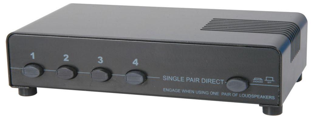 AV:Link 1:4 Speaker Switch w/protection 128.425UK