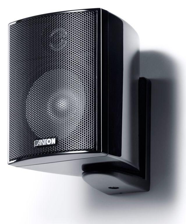 Canton PLUS MX.3 Compact HiFi Onwall Speaker 3'' 70W Black (PAIR)