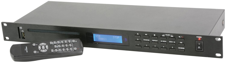 Adastra AD-400 CD Player with USB/SD/FM Remote Control 1U 952.982UK