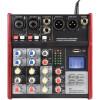 Citronic CSM-4 Mixer 4channels USB/BT Play-Record 170.871UK