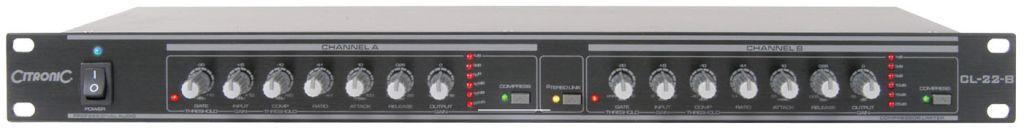 Citronic CL-22-B Comp/Limiter Black 170.934UK