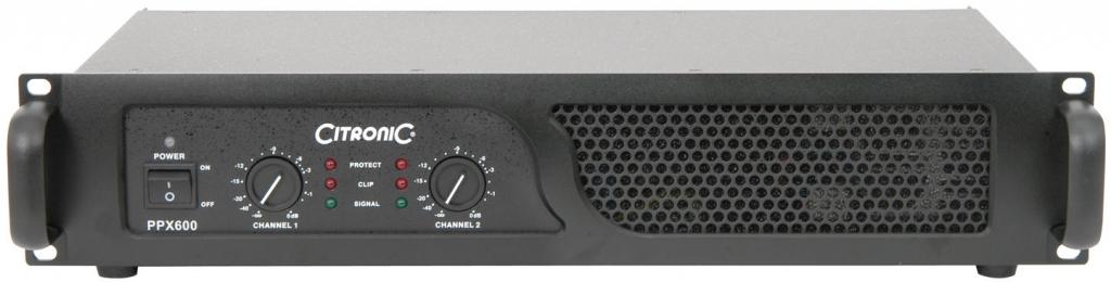 Citronic PPX600 2U Amplifier 2x200W RMS 172.206UK