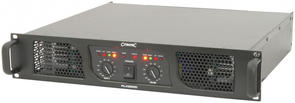 Citronic PLX2800 Power Amp 2x600W/8ohm 172.216UK