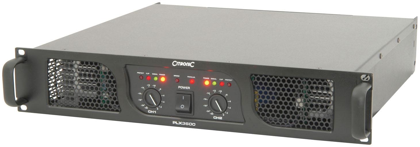 Citronic PLX3600 Power Amp 2x1350W/4ohm 172.218UK