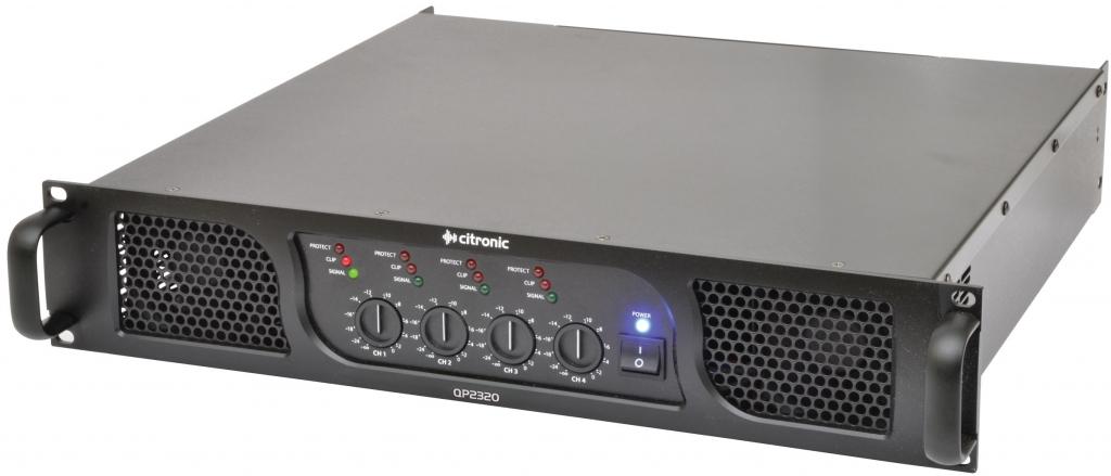 Citronic 172.243UK QP2320 Quad Power Amplifier 4 x 580W