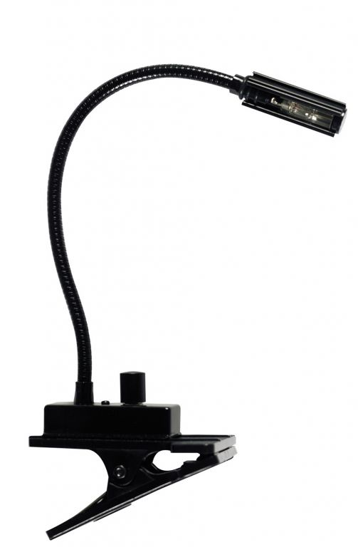 QTX Sound Gooseneck Lamp with table clip 173.105UK