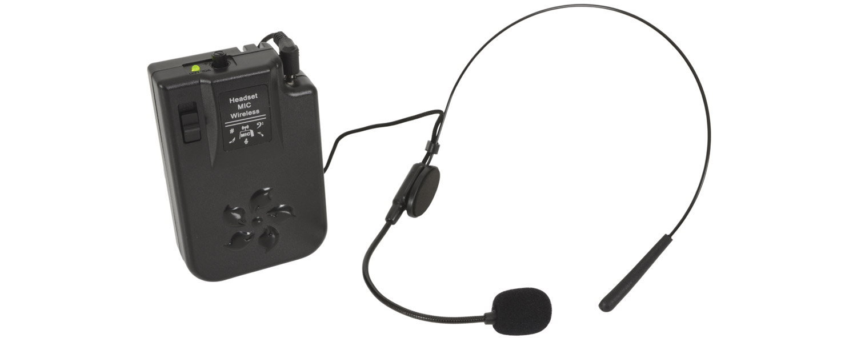 QTX Beltpack Headset Mic for BuskerPA 178.871UK