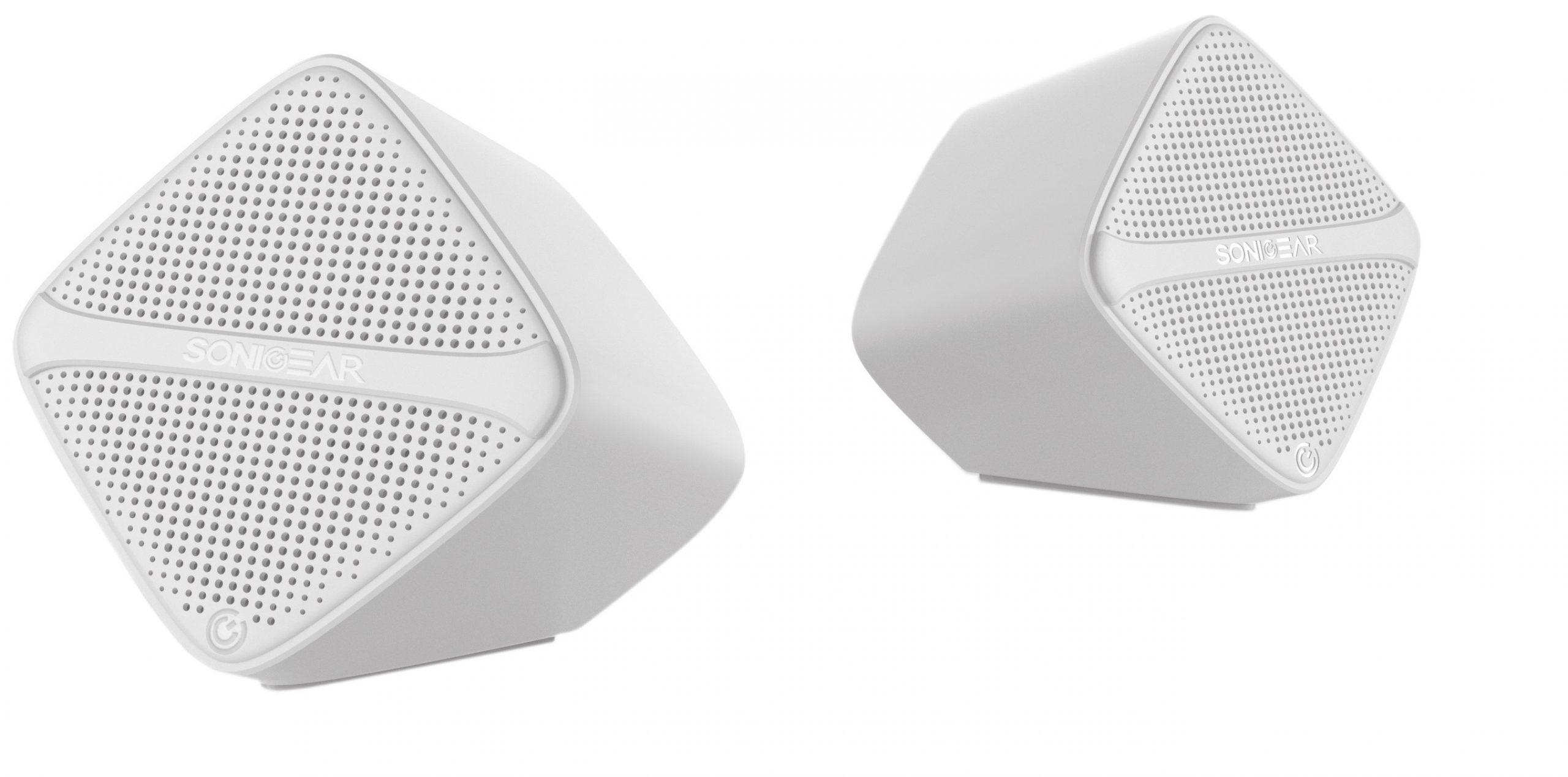 SonicGear SonicCube 2.0 USB PC Speakers White 12W