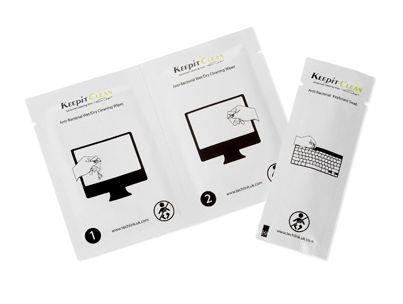 KEEPITCLEAN Screen-Keyboard Twin Pack 2x24 510008
