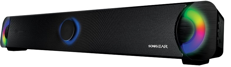 SonicGear BT300 Bluetooth Soundbar with LED Effect 7.2W