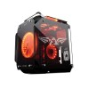 Armaggeddon Hagane H3 Micro ATX Gaming Case Black and Red With 2 x 200mm fans