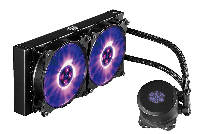 Cooler Master MasterLiquid Lite 240 RGB Liquid CPU Cooler