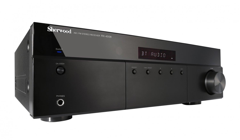 Sherwood RX-4508 Stereo Amp with FM & Bluetooth 2x100W