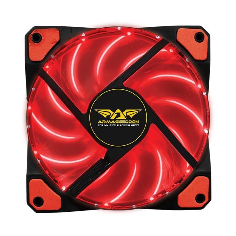 Armaggeddon Blade Scarlet Gaming PC Fan Red