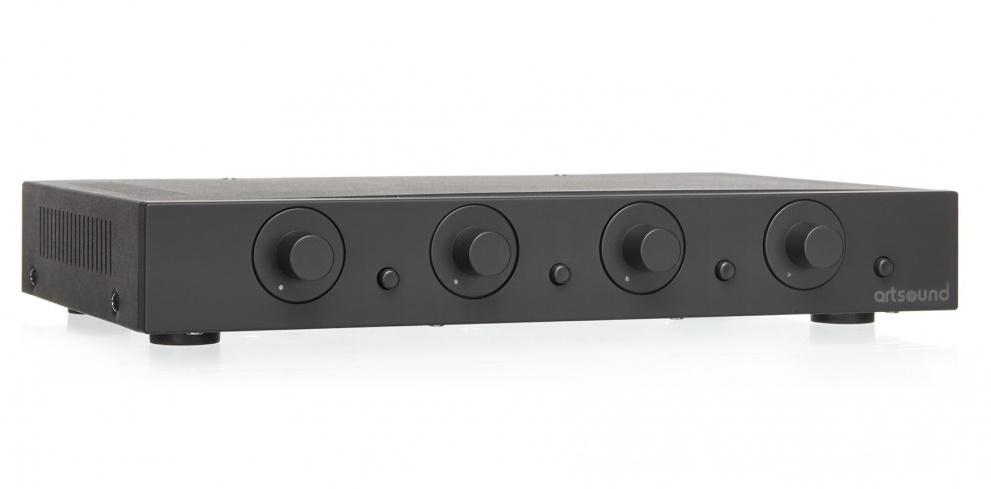 Artsound SVC4.2b Stereo Volume Control 4 pairs Black