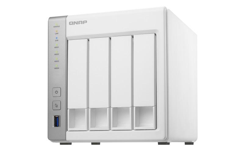QNAP TS-431P2-1G 4Bay NAS Quad Core 1GB