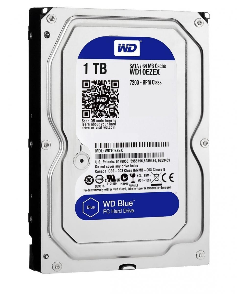 Western Digital BLUE 3.5'' Desktop Hard Drive 1TB 7200RPM