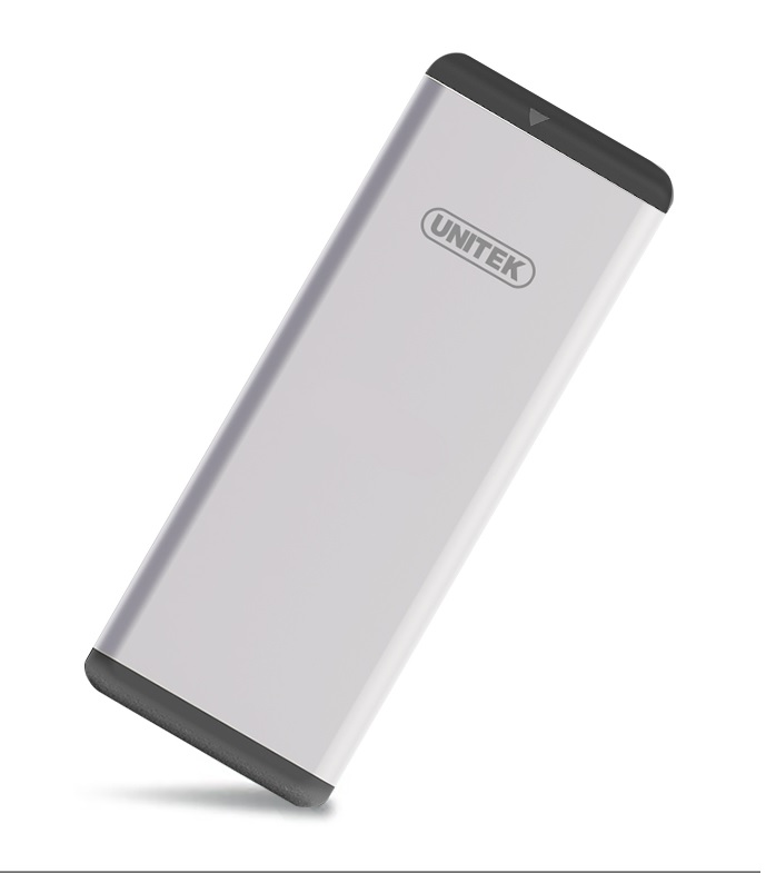 Unitek Y-3365 USB3.0 M.2 SSD (NGFF/SATA) Aluminium Enclosure