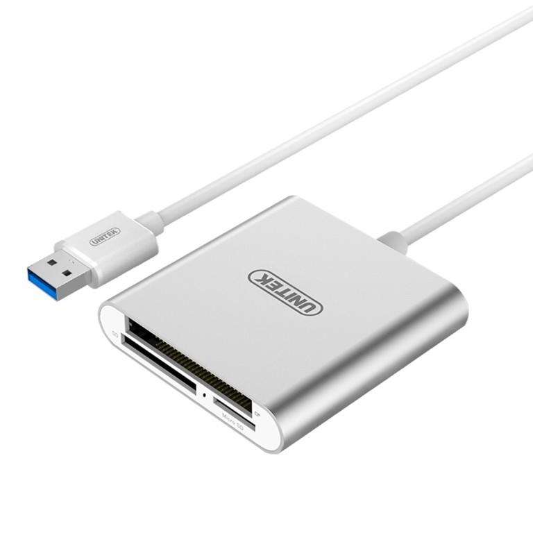 Unitek Y-9313 USB3.0 Multi Aluminium Card Reader