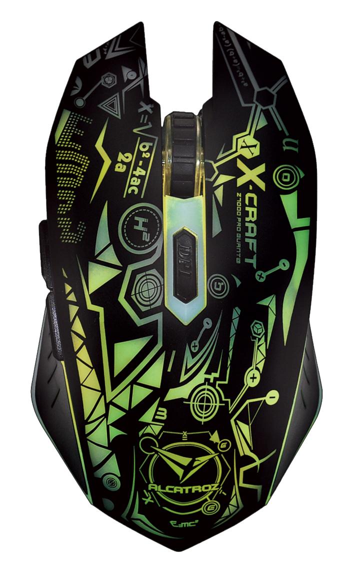 Alcatroz X-Craft Pro Quantum Z7000 Gaming Mouse