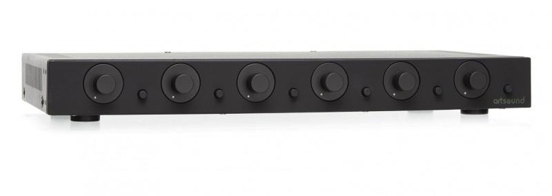 Artsound SVC6.2B Stereo Volume Control 6 pairs Black
