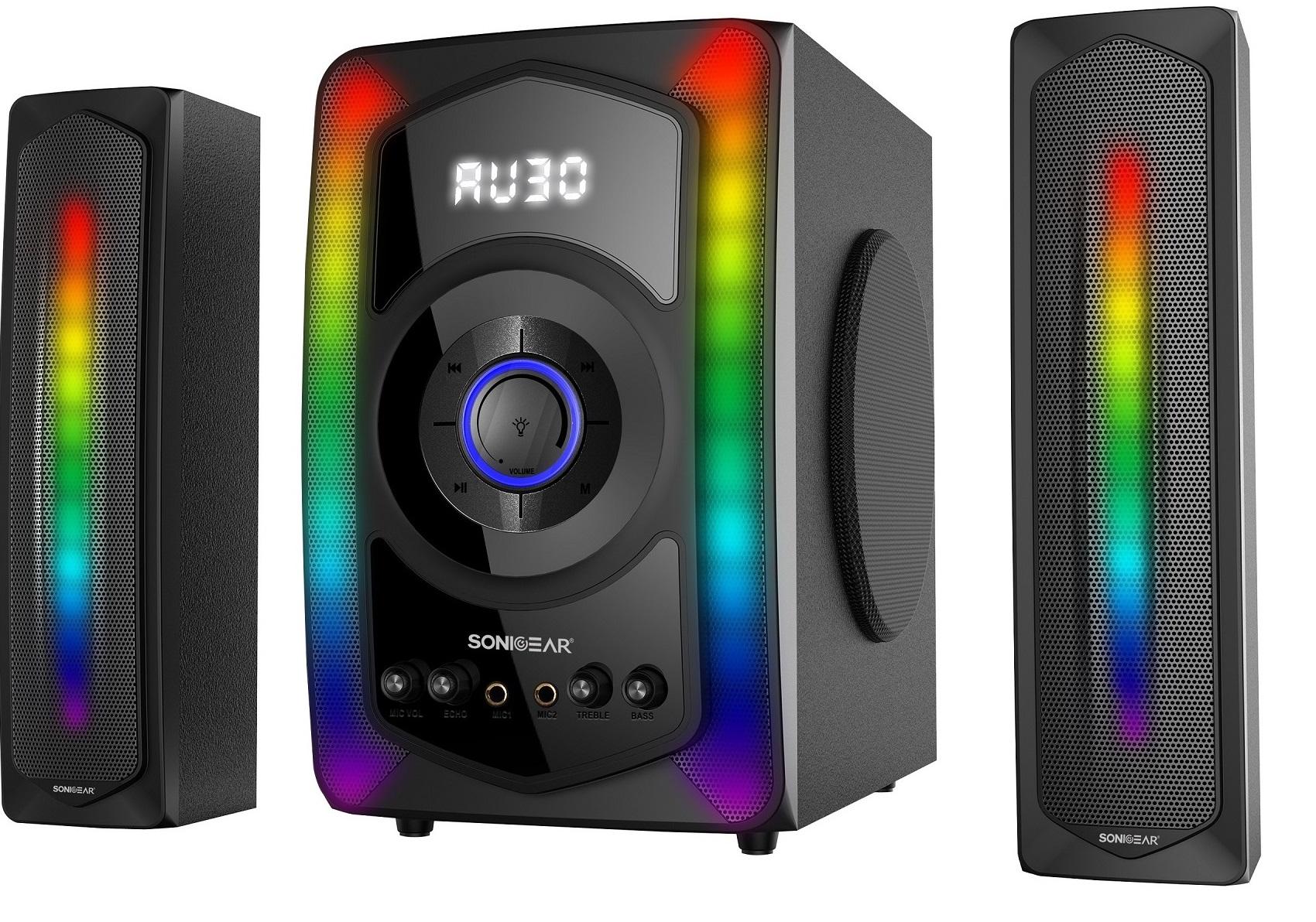 SonicGear Evo 11 Bluetooth Speaker With FM SD Card USB 120W