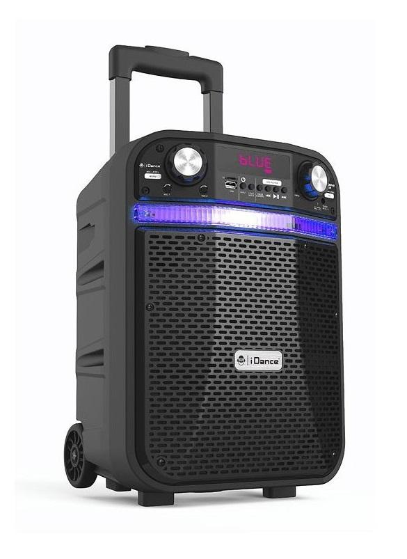 "iDance Groove408X 10"" Portable PA USB/BT/FM/LED"