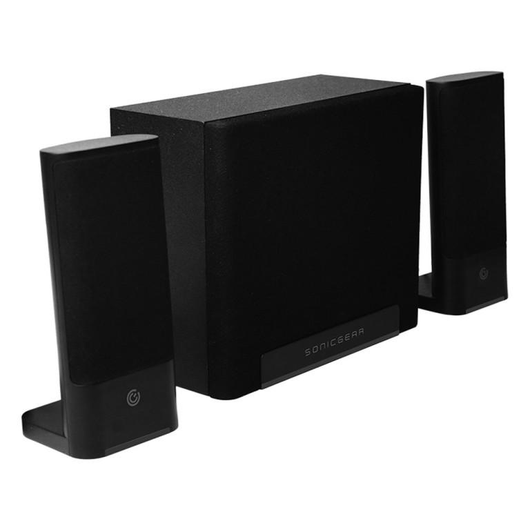 SonicGear Space3 2.1 Hi-Fi/ BT Speakers 40W (Midnight gray)