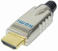 HDMI Plug Metal Gold Plated SDV3G