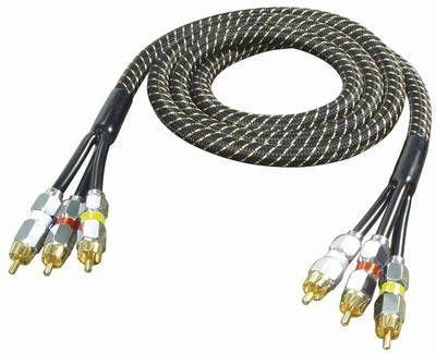 ALL4U BNV12-1.5C Nylon series 3RCA RGB 1.5m