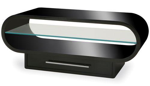 Techlink OVP95B Ovid TV/HiFi Rack Black
