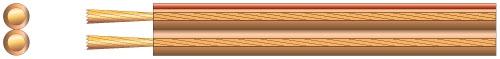Mercury Economy Speaker Cable 2 x 2.5mm Clear 100m 807.050UK