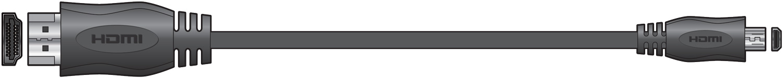 AV:link HDMI Plug to HDMI Micro Plug 1.5m 112.083UK
