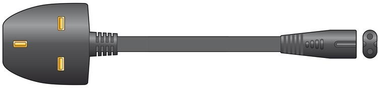 Mercury Fig8 Power Cable 5.0m Bag 114.037UK