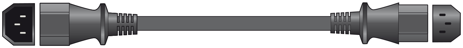 Mercury IEC Extention Lead 2.0m Bag 114.053UK