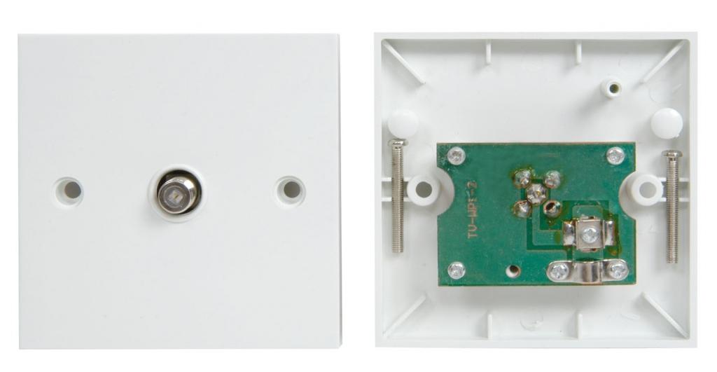AV:link Wallplate Satellite 122.309UK
