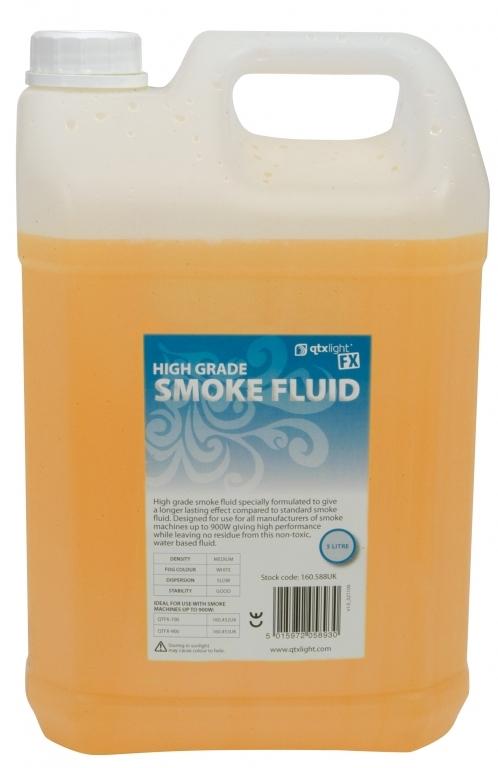 QTX Smoke Fluid High Grade 5L Up to 900W 160.588UK