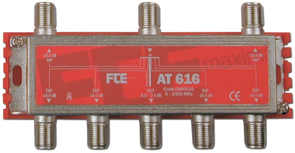 FTE AT616 6-Way Tap 5-2400mhz