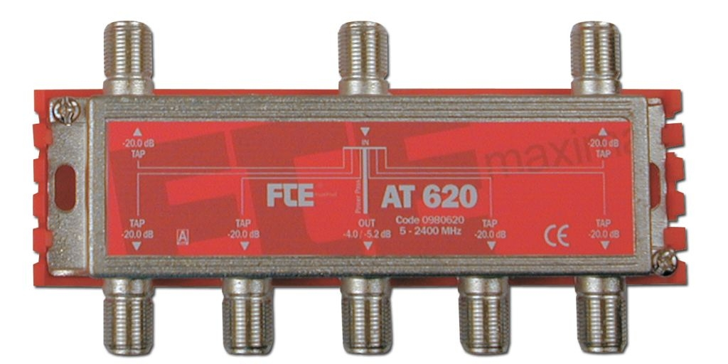 FTE AT620 6-Way Tap 5-2400mhz
