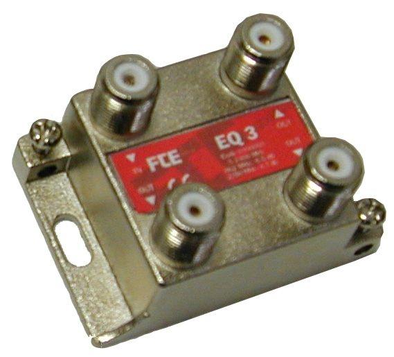 FTE EQ3 Splitter 1-3 5-2400mhz flat