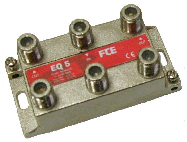FTE EQ5 Splitter 1-5 5-2400mhz flat