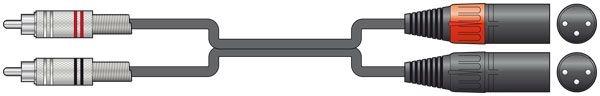 Chord Classic 2XLRM-2RCA 0.75m 190.057UK