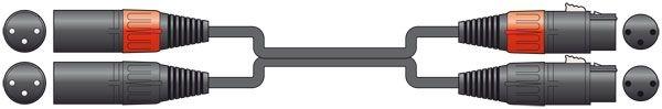 Chord Classic 2 XLRF-2 XLRM 6.0m 190.031UK