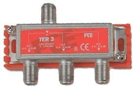 FTE TER3 Splitter 1-3 (5-1000mhz)