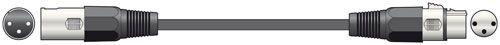 QTX Light DMX leads 3p 110ohm 6.0m  177.907UK