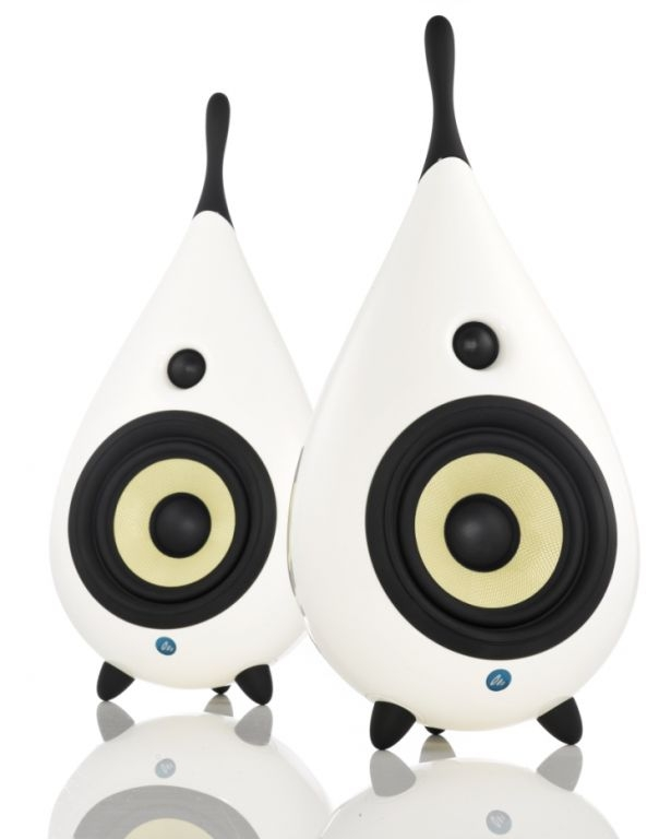 OPEN BOX Scandyna The Drop Speakers White (1 pc)