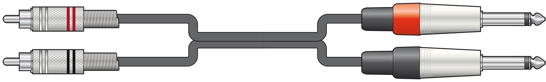 Chord Classic 2RCA-2x6.3MM Mono 3.0m 190.068UK